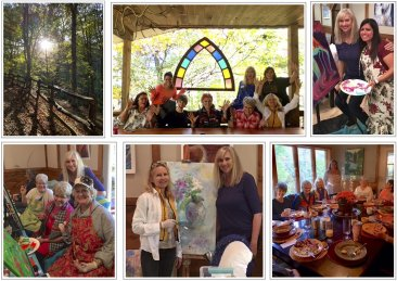 Register for the 2020 Free to Create Art Retreat  June 10-14, 2020